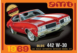 AMT 1105 1969 Olds 442 W-30 1/25 Plastic Model Kit Oldsmobile