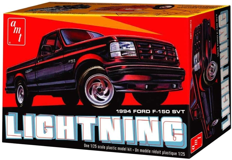 AMT 1994 FORD F-150 LIGHTNING PICKUP 1:25 SCALE MODEL KIT 1110 - Shore Line Hobby