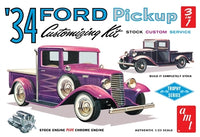 1934 Ford Pickup Truck Customizing Kit 1/25 AMT Models - shore-line-hobby