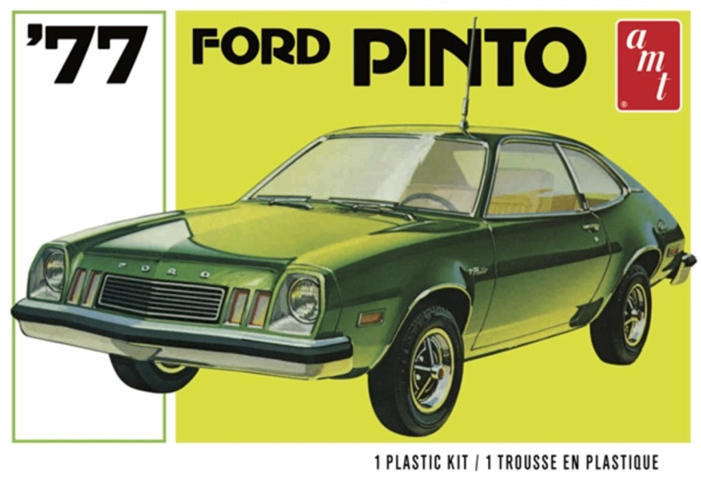 AMT 1129 1977 Ford Pinto 1/25 Plastic Model Kit - Shore Line Hobby