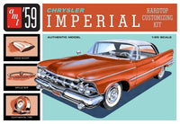 1959 Chrysler Imperial Customizing Car 1/25 AMT Models 1136