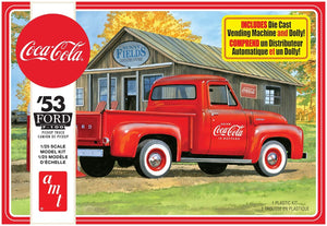 AMT 1144M 1/25 1953 Ford Pickup, Coca Cola Model Kit 2T