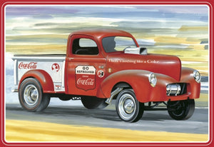 Coca-Cola 1940 Willys Gasser Pickup Truck 1/25 AMT Models - shore-line-hobby