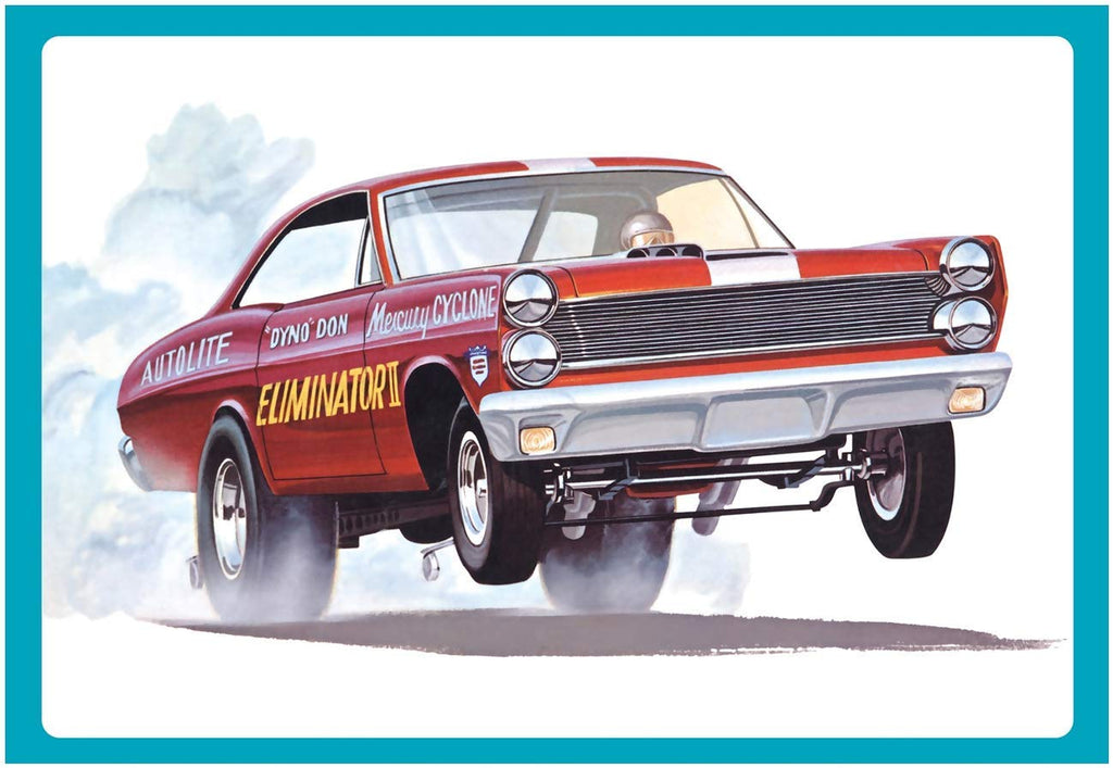 AMT 1151 1/25 1967 Mercury Cyclone Eliminator II/Dyno Don Model Kit - Shore Line Hobby