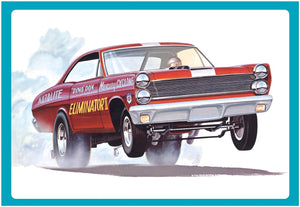 AMT 1151 1/25 1967 Mercury Cyclone Eliminator II/Dyno Don Model Kit - shore-line-hobby