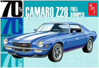 AMT 1970 Camaro Z28 Full Bumper 1:25 1155 Plastic Model Kit - Shore Line Hobby