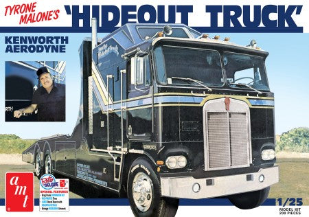 "AMT Tyrone Malone Kenworth Transporter ""Hideout Truck"" (1/25) 1158 - Shore Line Hobby"