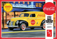 AMT 1161 1/25 1940 Ford Sedan Delivery Coca-Cola Plastic Model Kit