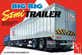 AMT Big Rig Semi Trailer 1/25 1164 Plastic Model Kit - Shore Line Hobby