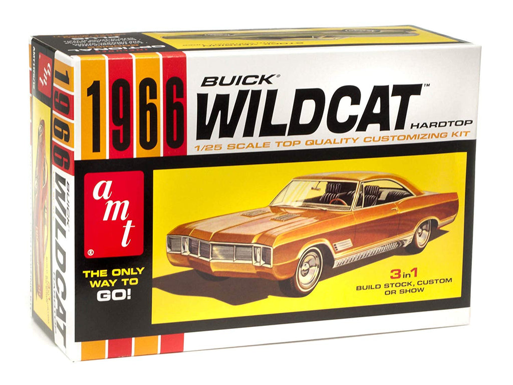AMT 1966 Buick Wildcat 1/25 Scale Model Kit 1175 - Shore Line Hobby