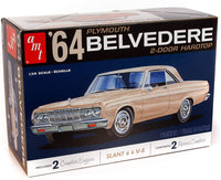 AMT 1964 Plymouth Belvedere 2-Door Hardtop 1/25 Plastic Model Kit 1188
