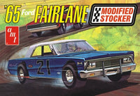 1965 Ford Fairlane Modified Stocker Race Car 1/25 1190 AMT Models - Shore Line Hobby
