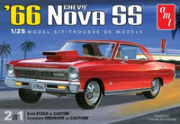 1966 Chevy Nova SS (2 in 1) 1/25 AMT Models - Shore Line Hobby