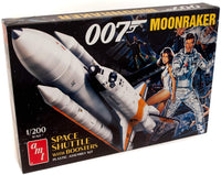 AMT Moonraker Shuttle w/Boosters - James Bond 1/200 1208 Plastic Model Kit - Shore Line Hobby
