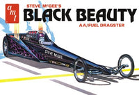 AMT Steve McGee's Black Beauty AA/Fuel Dragster 1/25 1214 Plastic Model Kit - Shore Line Hobby