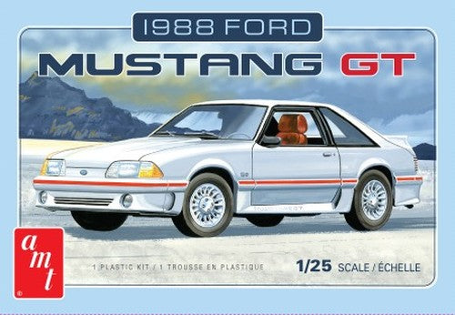 1988 Ford Mustang GT Car 1/25 AMT Models Plastic Model Kit - Shore Line Hobby