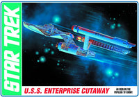 AMT USS Enterprise NCC-1701 Original Series Cutaway Star Trek 1/537 Plastic Model Kit - Shore Line Hobby