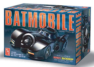 AMT 935 1/25 1989 Batmobile Plastic Model Kit