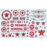 Texaco Trucking Graphics Decal Pack AMT MKA29 1/25 - shore-line-hobby