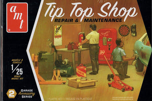 AMT PP16 Tip Top Shop Garage Tools and Accessories Set 2 Model Kit 1/25