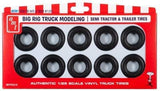 AMT Big Rig Truck Tire Parts Pack 10 Tires 1:25 PP23 - Shore Line Hobby
