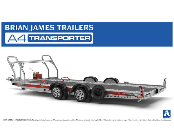 Brian James Trailers A4 Auto Transporter Aoshima 1/24 52600
