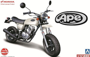 2007 Honda Ape 50 Aoshima 51702 1/12 Motorcycle Model Kit