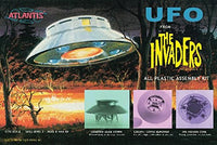 UFO from The Invaders All Plastic Assembly Kit Atlantis Models 1006 1/72 - shore-line-hobby