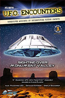 Monument Valley UFO Clear 5-Inch Model Kit with Light Atlantis Models 1007 - shore-line-hobby