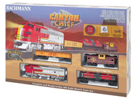 Bachmann Canyon Chief HO Scale Model Railroad Set 00740 - shore-line-hobby