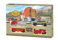 Bachmann Santa Fe Flyer HO Scale Model Railroad Set 00647 - Shore Line Hobby