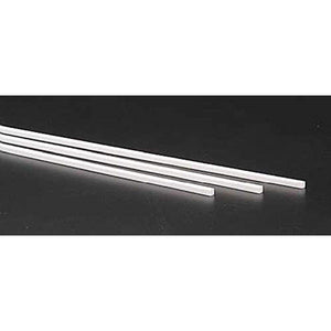 "Evergreen Scale Models Square Tubing 1/8"" (3) - shore-line-hobby"