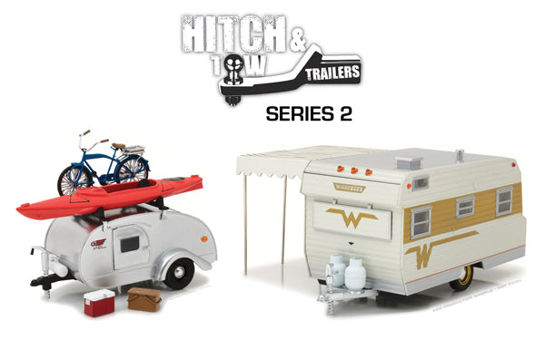 Greenlight Collectibles Hitch & Tow Trailers Set of 2 1:24 18420