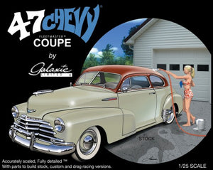 Galaxie Limited 1/25 1947 Chevrolet Fleetmaster Coupe Car Kit 13031 - shore-line-hobby