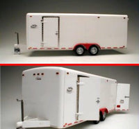 21 foot Twin-Axle Tag-Along Trailer Galaxie LTD Plastic Model Kit - Shore Line Hobby
