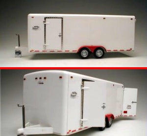 21 foot Twin-Axle Tag-Along Trailer Galaxie LTD Plastic Model Kit