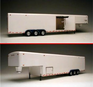 38 foot Tri-Axle Fifth Wheel Trailer Galaxie LTD Plastic Model Kit