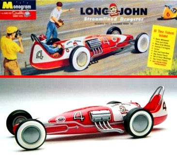 Long John Streamlined Dragster Galaxie 544