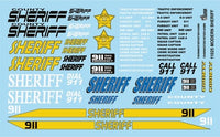 Modern Sheriff Decals Gofer Racing 11025 1/24 1/25