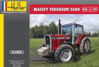 Heller 81402 Massey Ferguson 2680 Farm Tractor 1/24 New Plastic Model Kit - shore-line-hobby