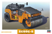 Hasegawa 66002 1/35 Hitachi ZC50C5 Vibratory Combined Roller Construction Machinery - Shore Line Hobby