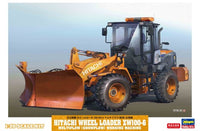 Hasegawa 66102 Hitachi Construction Machinery Wheel Loader ZW100-6 Multiplow (snow removal) 1/35 - Shore Line Hobby