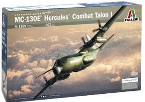 MC-130E Hercules Combat Talon I Aircraft 1/72 Italeri 1369 Plastic Model Kit
