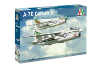 Italeri A-7E Corsair II Airplane Plastic Model Kit 1411 1:72