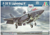 F-35B Lightning II Aircraft 1/72 Italeri 1425 Plastic Model Kit - Shore Line Hobby