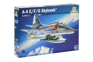 Italeri A-4 E/F/G Skyhawk Plastic Model Airplane Kit 1/48 2671 - shore-line-hobby
