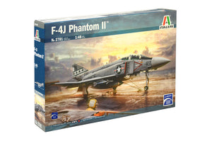 Italeri F-4J Phantom II Plastic Model Airplane Kit 1/48 2781 - shore-line-hobby