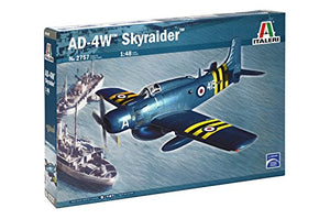 Italeri AD-4W Skyraider 1/48 2757 Plastic Airplane Model Kit
