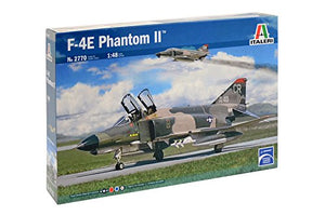 Italeri F-4E Phantom II 1/48 2770 Plastic Airplane Model Kit