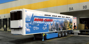 Reefer Trailer Italeri 1/24 3904 Plastic Model Kit Trucks